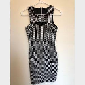 Topshop Dresses - Topshop Polka Dot Dress - Size 2